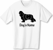 CKCS T-Shirt Personalized with Dog's Name