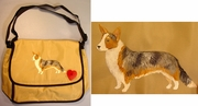 Cardigan Welsh Corgi Messenger Bag
