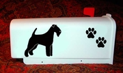 Irish Terrier Mail Box