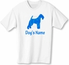 Irish Terrier T-Shirt Personalized with Dog's Name