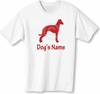 Italian Greyhound T-Shirt Personalized with Dog's Name