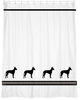 Manchester Terrier Shower Curtain