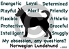 Norwegian Lundehund Obsession Long Sleeve T-Shirt