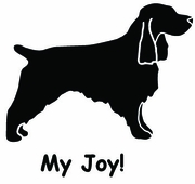 Field Spaniel My Joy! My Love! My Life! Long Sleeve T-Shirt