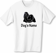 Lhasa Apso T-Shirt Personalized with Dog's Name