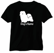Havanese T-Shirt Personalized with Dog's Name