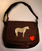 Quarter Horse Messenger Bag
