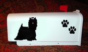 Yorkshire Terrier Mail Box