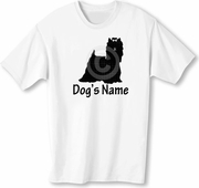 Yorkshire Terrier T-Shirt Personalized with Dog's Name