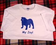 Bulldog My Joy! My Love! My Life! Long Sleeve T-Shirt