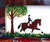Hand Painted Horse - Steel Mailbox