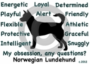 Norwegian Lundehund Obsession Sweatshirt