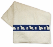 French Bulldog Bath Towels