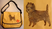 Cairn Terrier Messenger Bag
