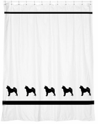 Akita Shower Curtain