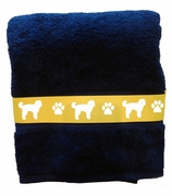Goldendoodle Bath Towels