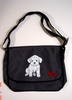 Maltese Puppy Messenger Bag