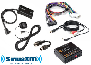 complete sirius xm install kit for factory gm vehicles rh store xmfanstore com Ford Stereo Wiring Harness Diagram sirius satellite radio wiring diagram
