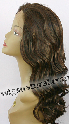 Lace front wig, Zury Human hair blend wig, style HQ-Lace Wig Lydia, color F1B/33