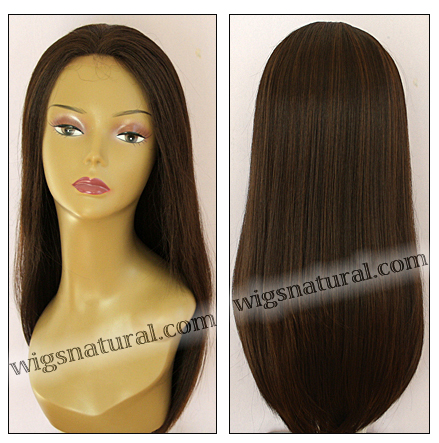 Human hair blend lace front wig HBL-CAROLINE, SEPIA Love it wig collection, color FS4/30