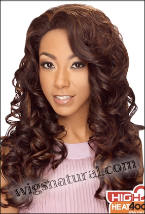 "LACE WIG CH-MISHA, Sister Chiffon Double Lace Front Wig, Remy fiber lace front wig, in stock <font color = ""#660000"">($29.99) </font color = ""#660000"">"