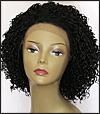 LACE WIG CH-DAISY, Sister Chiffon Double Lace Front Wig, Remy fiber lace front wig, color #1