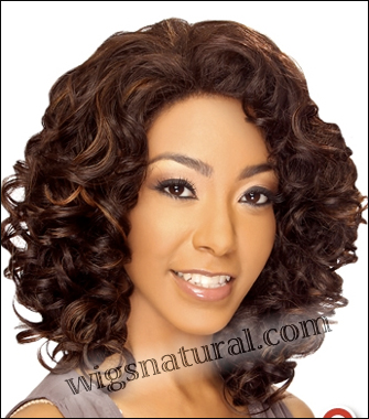 LACE WIG CH-RHEA, Sister Chiffon Double Lace Front Wig, Remy fiber lace front wig, in stock