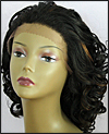 LACE WIG CH-RHEA, Sister Chiffon Double Lace Front Wig, Remy fiber lace front wig, color FS1B/30