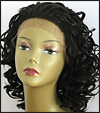 LACE WIG CH-RHEA, Sister Chiffon Double Lace Front Wig, Remy fiber lace front wig, color #2
