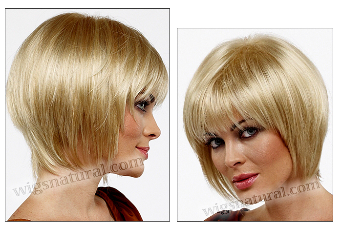Envy open top wig Francesca, color shown light blonde