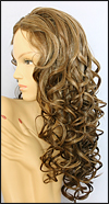 Synthetic wig MT806, color D8/12/B.S.,  Magic Touch Collection