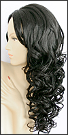 Synthetic wig MT806, color 1B, Magic Touch Collection