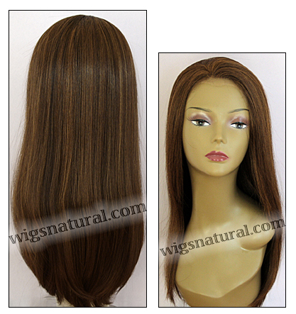 Human hair blend lace front wig HBL-CAROLINE, SEPIA Love it wig collection, color P27/4/30