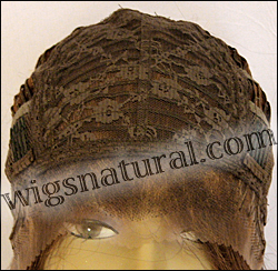 Human hair blend lace front wig HBL-CHARITY, SEPIA Love it wig collection, color P27/4/30