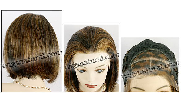 Lace Front Wig HRH LACE WIG 11, Hollywood Remy hair wig, color F1B/30