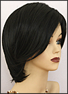 Synthetic wig Modern Edge, Forever Young wig collection, color 1B