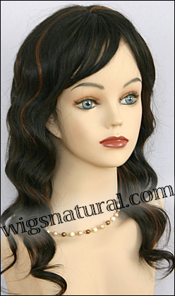 Human hair wig HH-GRACE, HairSense wig, Secret Collection, color FS1B/33