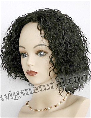 Human hair wig H MIMI, SEPIA Wig Collection, color 1B