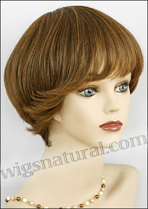 Human hair wig H VIVA, SEPIA Wig Collection, color H27/4/30