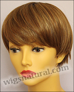 Envy mono top wig JoAnne, color shown creamed coffee