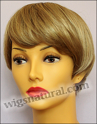 Envy mono top wig JoAnne, color shown sparkling champagne
