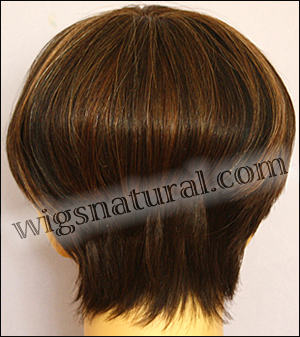 Envy mono top wig JoAnne, color shown chocolate caramel
