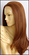 SEPIA Lace Front Wig Diamond, Heat-Resistant Futura Synthetic Fiber, color #130