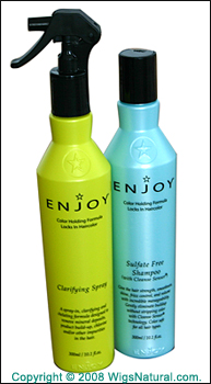 ENJOY Clarifying Spray + ENJOY Sulfate Free Shampoo with Cleanse Sensor