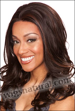 SEPIA Lace Front Wig NATALIE, Heat-Resistant Synthetic Fiber, in stock