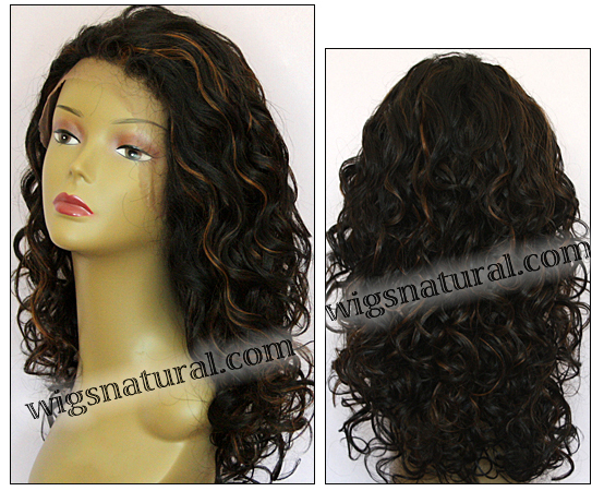 Lace Front Wig Bobbi Boss Mhlf F Premium Virgin Remy Human Hair Color F1b 30
