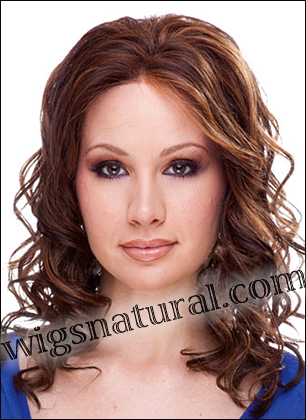 SEPIA Lace Front Wig COURTNEY, Heat-Resistant Synthetic Fiber, in stock