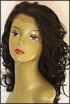 SEPIA Lace Front Wig COURTNEY, Heat-Resistant Synthetic Fiber, color #4