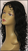 Lace front wig HRH-LACE WIG ONYX, Sister Remy human hair lace wig, color #1