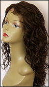 Lace front wig HRH-LACE WIG ONYX, Sister Remy human hair lace wig, color #4
